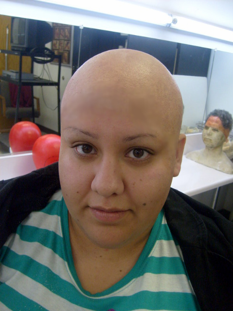 Bald cap application and fabrication.